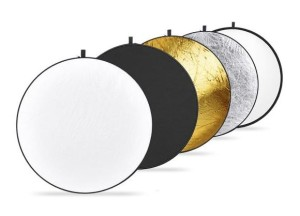 Neewer 43-inch 110cm 5-in-1 Collapsible Multi-Disc Light Reflector
