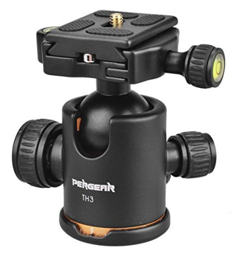 Fluid Rotation Tripod Ball head